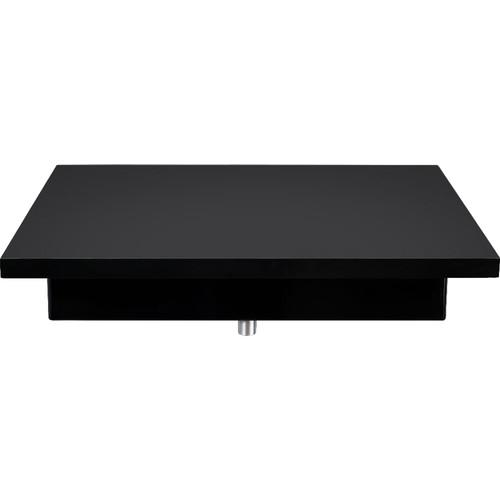 FLEXSON VinylPlay Turntable Shelf (Black) FLXVPWS1021
