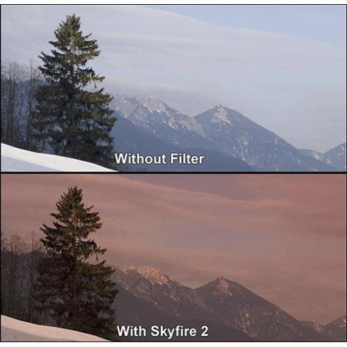 Formatt Hitech 86mm Graduated Skyfire 2 Filter BF 86-2-HESKY