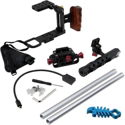 FotodioX Sharkcage Protective Handheld Rig SHRKCGE-A7-BLCK-ONLY