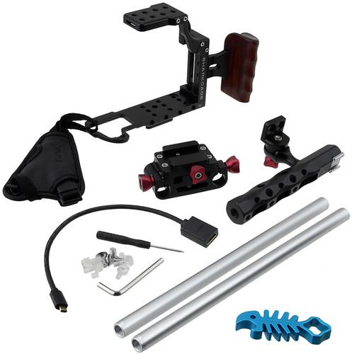 FotodioX Sharkcage Protective Handheld Rig SHRKCGE-NX1-BLCK-ONLY