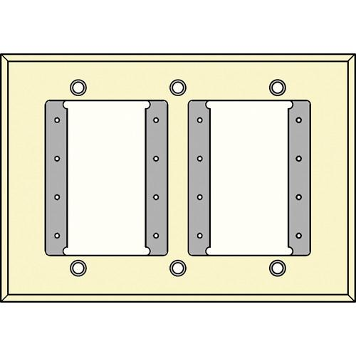 FSR IPS-WP1T-IVO 3 Gang Wall Plate (Ivory) IPS-WP1T-IVO