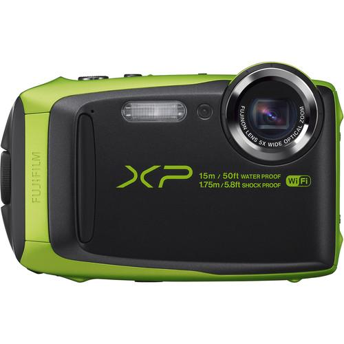 Fujifilm FinePix XP90 Digital Camera (Lime) 16500208