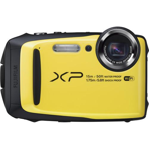 Fujifilm FinePix XP90 Digital Camera (Yellow) 16500466