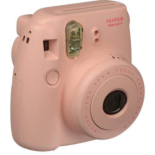 Fujifilm instax mini 8 Instant Film Camera with Twin Pack of