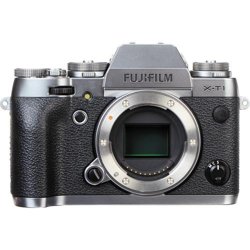 Fujifilm X-T1 Mirrorless Digital Camera Body with Accessories