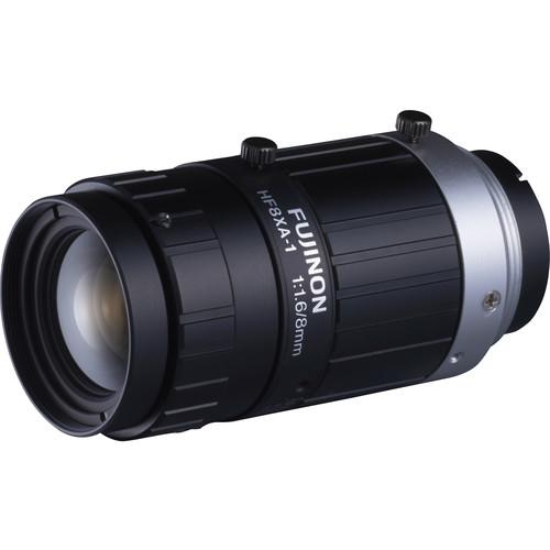 Fujinon HF-XA Series C-Mount 8mm Fixed Focal Lens HF8XA-1