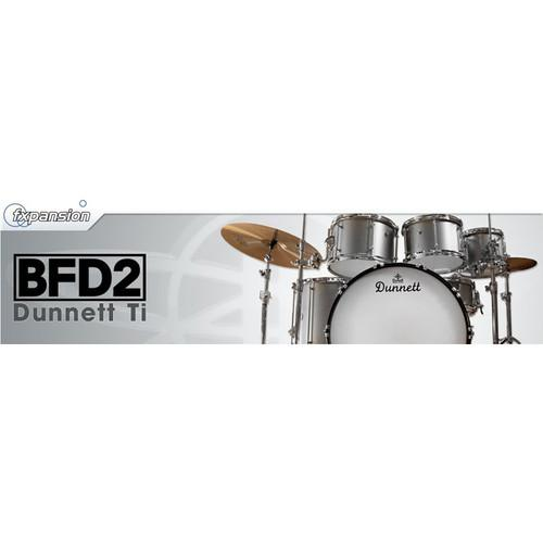 FXpansion BFD Dunnett Ti - Expansion Pack for BFD3, BFD FXDTI001