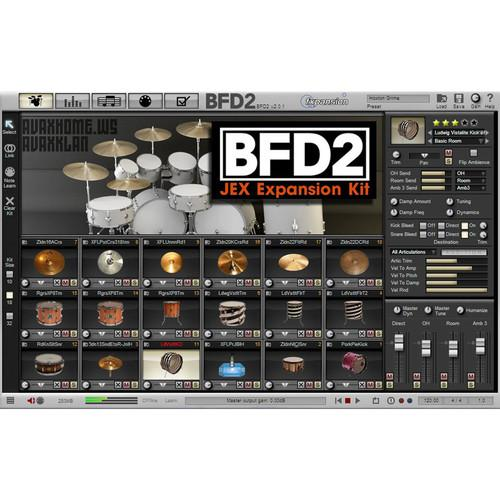 FXpansion BFD JEX - Expansion Pack for BFD3, BFD Eco, FXJEX001