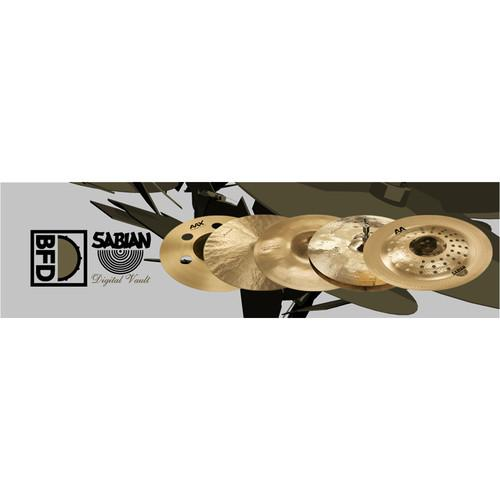FXpansion BFD Sabian Digital Vault - Expansion Pack FXBFDSDV001