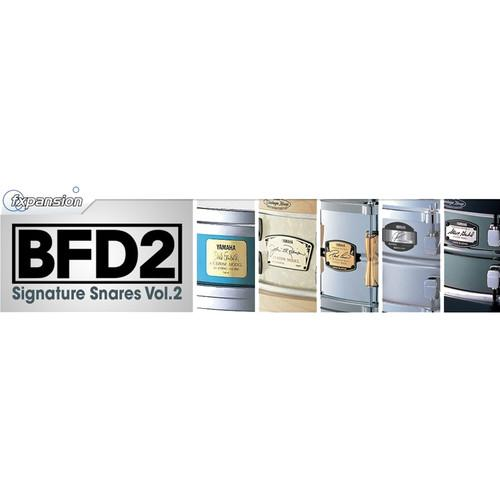 FXpansion BFD Signature Snares V.2 - Expansion Pack FXSIG002