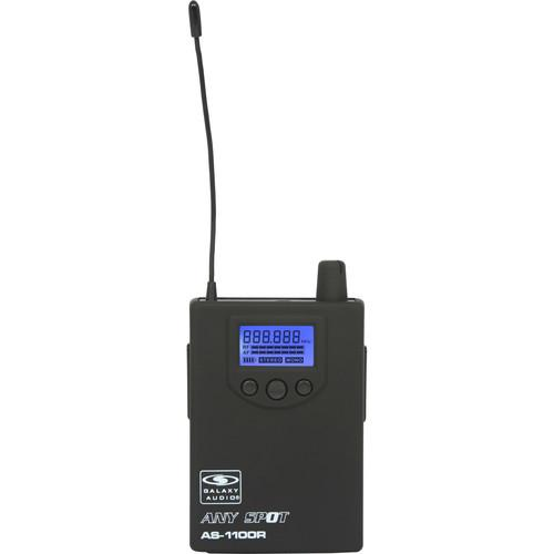 Galaxy Audio AS-1100RN Bodypack Receiver with EB3 Ear AS-1100RN