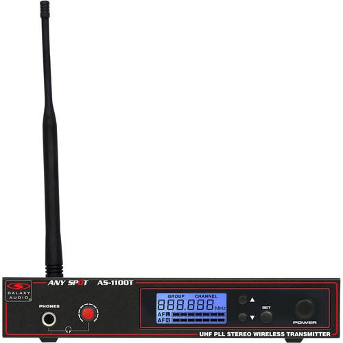 Galaxy Audio AS-1100TN Wireless Monitor Transmitter AS-1100TN