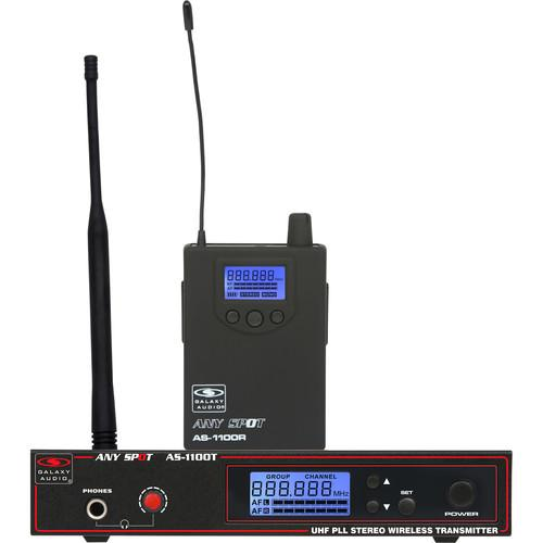Galaxy Audio AS-1110N Wireless Personal Monitor System AS-1110N