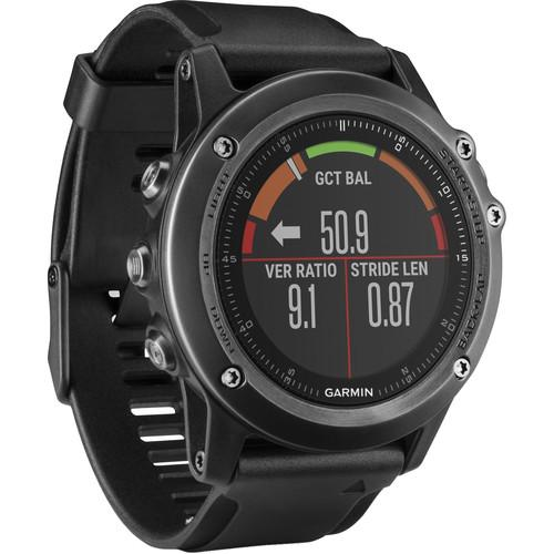 Garmin fenix 3 HR Multi-Sport Training GPS Watch 010-01338-70