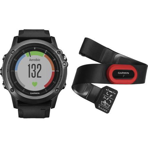 Garmin  fenix 3 HR Performer Bundle 010-01338-73