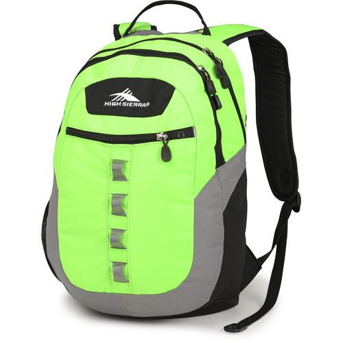 High Sierra Opie Backpack (Lime / Charcoal / Black) 53633-0737