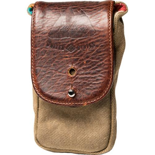HoldFast Gear Sightseer Cell Pouch (Olive/Brown) SCP01-OL