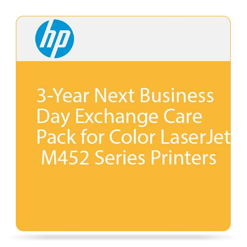 HP 3-Year Next Business Day Exchange Care Pack for Color U8TN4E