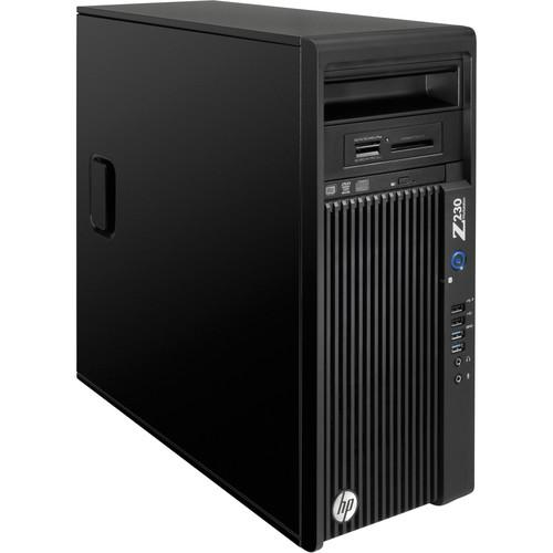 HP Z230 Series F1M25UT Turnkey Workstation with 5TB HDD and