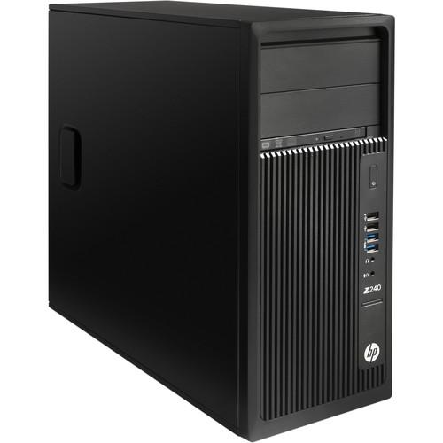 HP Z240 Series Turnkey Workstation with 32GB RAM, 500GB SSD,