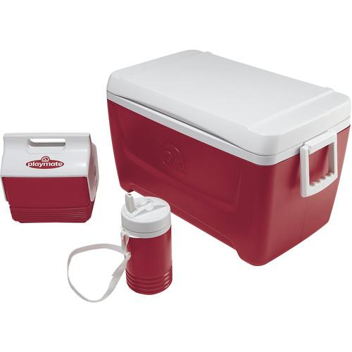 Igloo Island Breeze 48 Quart Cooler, Playmate Mini Cooler 44712