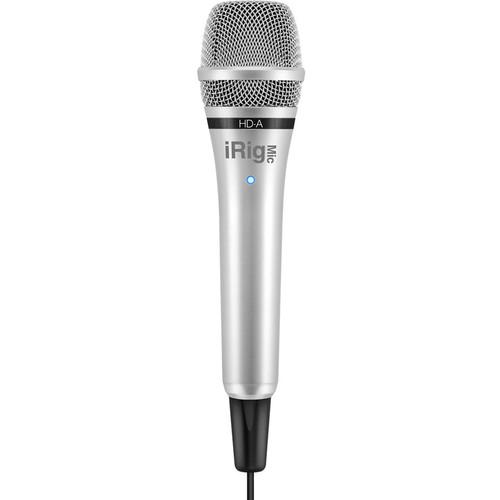IK Multimedia iRig Mic HD Handheld Digital IP-IRIG-MICHDA-IN