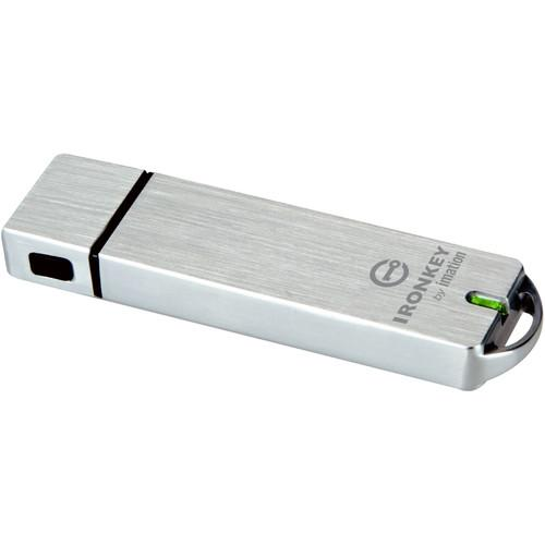 IronKey Basic S1000 64GB Encrypted Flash Drive IK-S1000-64GB-B