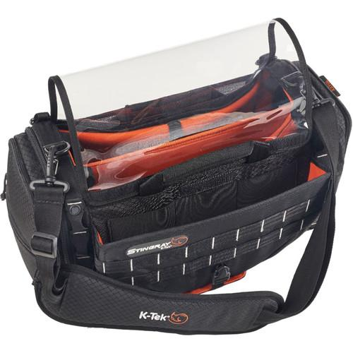 K-Tek Stingray Large Audio Mixer/Recorder Bag with Rain Bib Kit