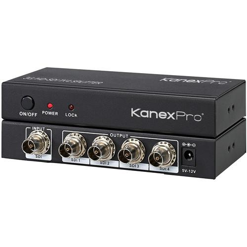 KanexPro 1x4 3G/HD/SD-SDI Distribution Amplifier SP-SDIX4