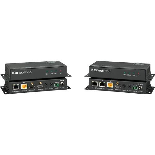 KanexPro HDMI Extender over CAT5e/6 with Audio, HDBASE100POEL