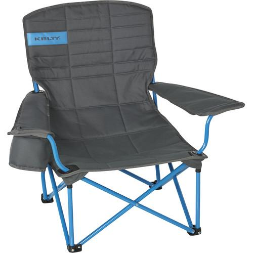 Kelty Folding Lowdown Chair (Smoke/Paradise Blue) 61510316SM