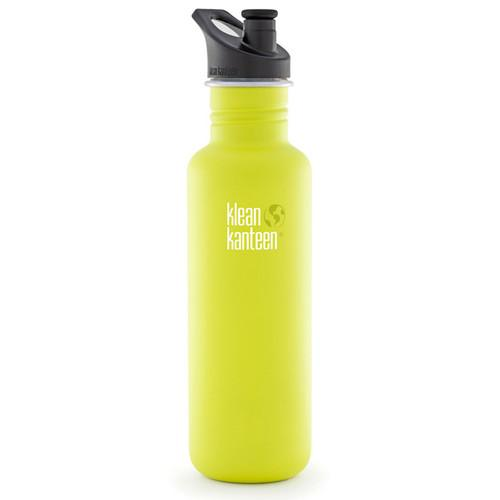 Klean Kanteen Classic 27 oz Water Bottle with Sport K27CPPS-LP