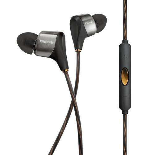 Klipsch XR8i Hybrid In-Ear Headphones (Black) 1062168