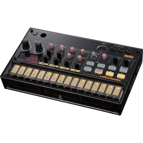 Korg Volca Beats Kit with Pocket Operator P0-14, Silicone Case,