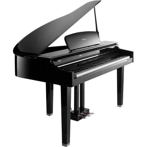 Kurzweil CGP220 German D Grand Piano (Ebony Polish) CGP220W