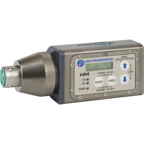 Lectrosonics HM Digital UHF Wireless Plug-On Transmitter &