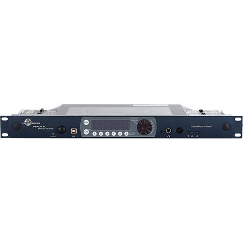 Lectrosonics Venue 2 Six-Channel Modular VRM2WBL, BLK 470-26
