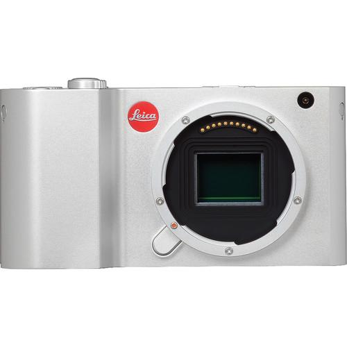 Leica T Mirrorless Digital Camera (Silver, Open Box) 18181