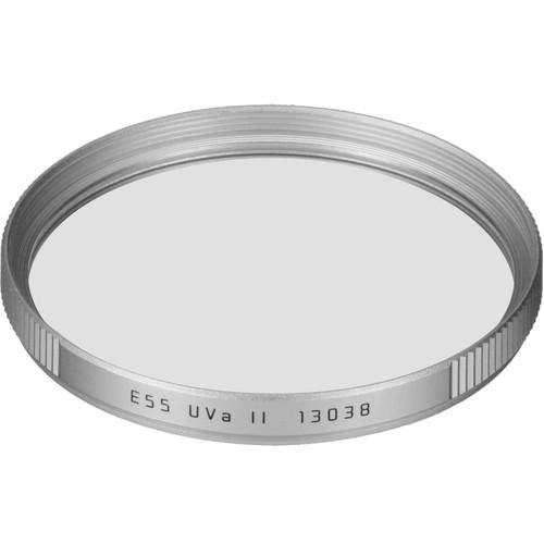 Leica  UVa II Color Filter (E55, Silver) 13038