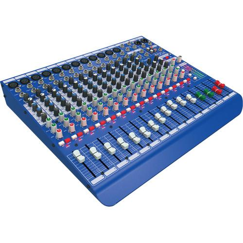 Midas DM16 16-Input Analog Live and Studio Mixer DM16