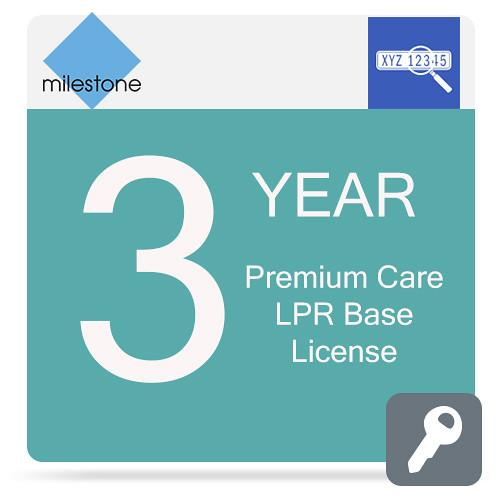 Milestone Care Premium for XProtect LPR Base MCPR-Y3XPLPRBL