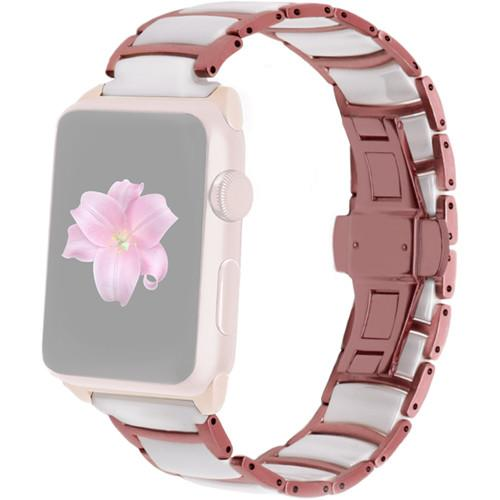 MONOWEAR Ceramic Band for 42mm Apple Watch MWCRRG22MTRG