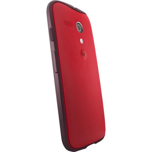 Motorola Grip Shells for Moto G 1st Gen (Red/Dark Red) 89696N