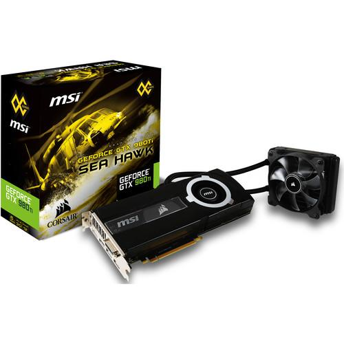 MSI GTX 980Ti SEA HAWK Graphics Card GTX 980TI SEA HAWK