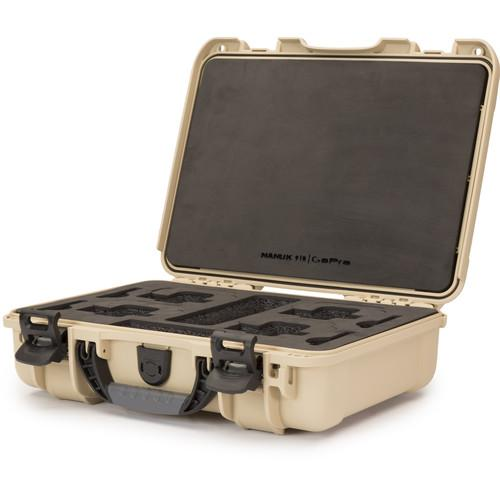 Nanuk 910 GoPro Case with Foam Insert for GoPro Series 910-GOP0