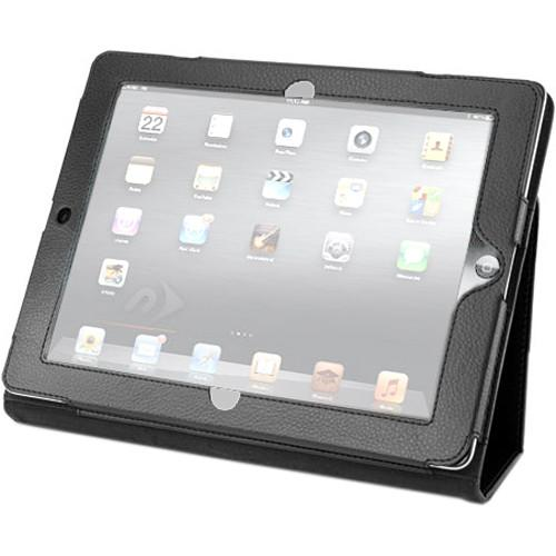 NewerTech Slim Leather Folio for Apple iPad 2, 3, NWTPADPROT3BK