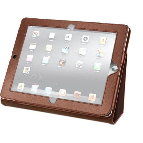 NewerTech Slim Leather Folio for Apple iPad 2, 3, NWTPADPROT3BR