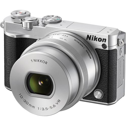 Nikon 1 J5 Mirrorless Digital Camera with 10-30mm Lens Deluxe