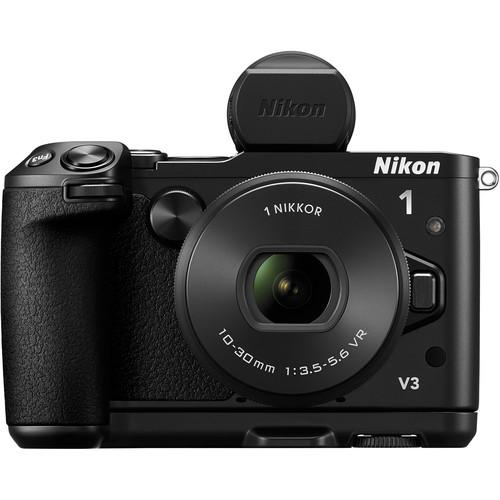 Nikon 1 V3 Mirrorless Digital Camera with 10-30mm Lens Deluxe