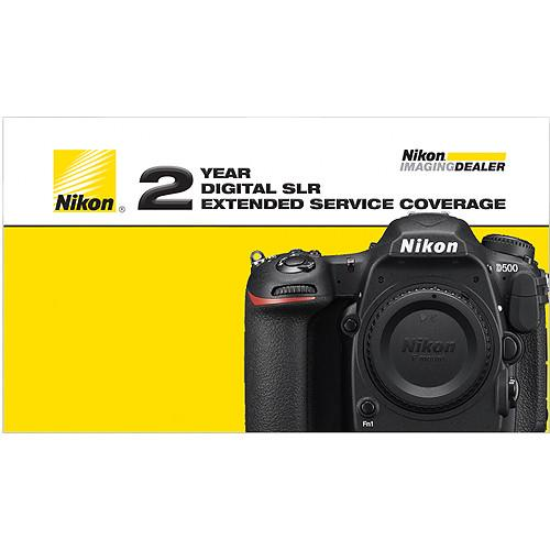 Nikon 2-Year Extended Service Coverage for D500 DSLR Camera